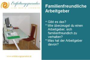 Familienfreundliche Arbeitgeber finden
