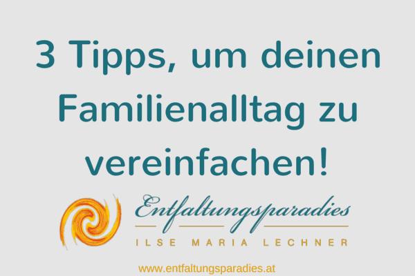 Familienalltag vereinfachen_Artikelbild